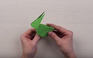 Origami: Složte si králíčka