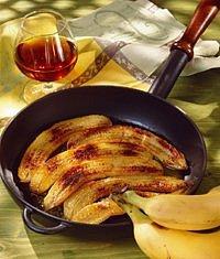 Flambované banány