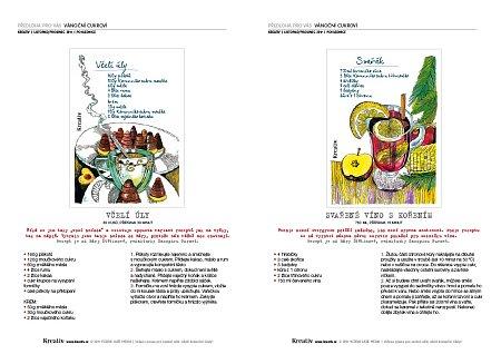 obr. předloha pohlednice cukroví