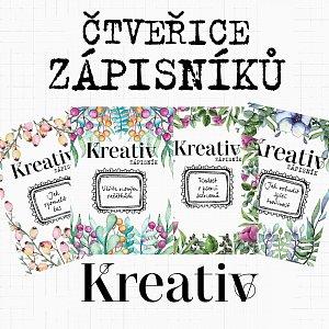 zápisníky Kreativ 2018