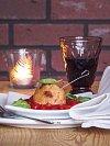 Rizotové koule se sušenými rajčaty a sýrem