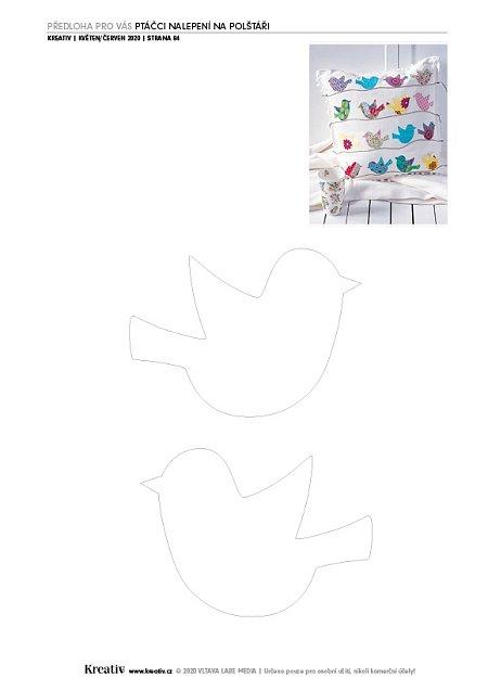 ptáčci na polštář