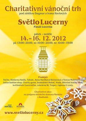 Charitativní thr Světlo Lucerny