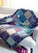 Pletená deka se sovou