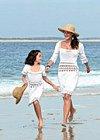 Dívčí a dámské háčkované šaty