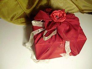Balení dárků – do šátku