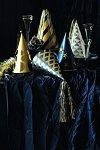 obrázek silvestrovské kloboučky