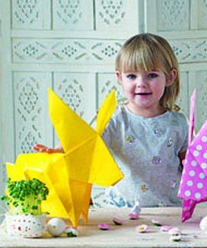 videonávod origami králík