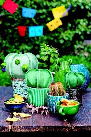 předloha kaktus