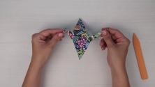 Origami: Složte si vodního jeřába