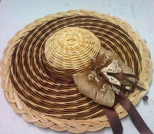Košíkářství - pedigový klobouk