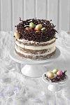čokoládové hnízdo na dort