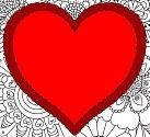 Vymalujte srdce z lásky