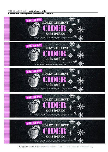 Cider - náhled