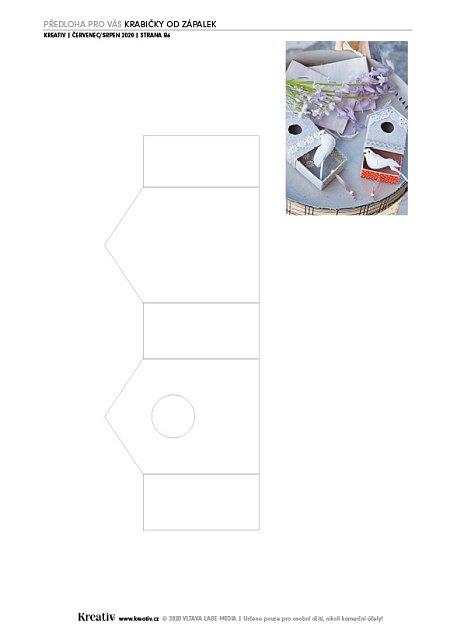 krabička na zápalky