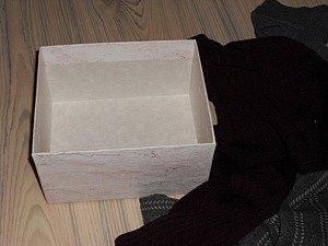 Příprava - krabice