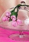 Náhrdelník s růžovými poupátky