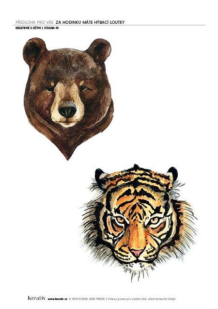 medvěd a tygr