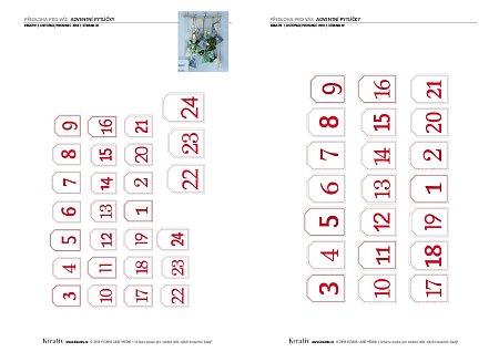 obrázek předloha čísla na pytlíčky