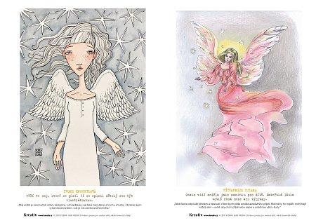 Andělé omalovánky 2