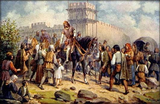 Český král a římský císař Karel IV.