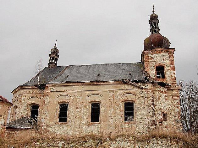 Kostel Neposkvrněného početí Panny Marie v Siřemi nedaleko Blšan