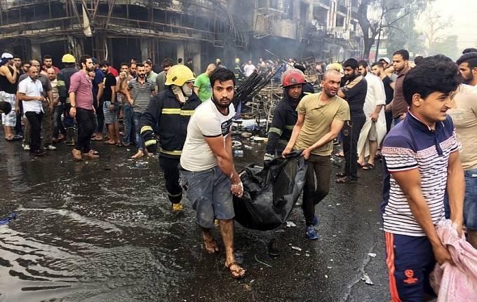 3. 7. 2016, Bagdád, Irák, 213 mrtvých