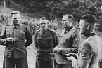 Anton Thuman s dalšími německými veliteli