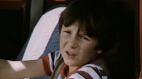 Tomáš Holý ve filmu Prázdniny pro psa