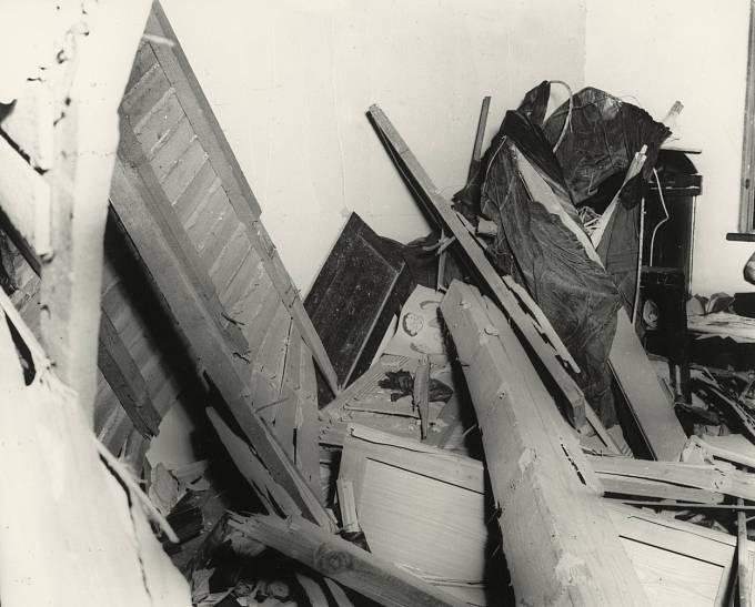 Následky bomby v Nagasaki