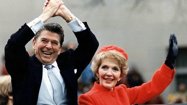 Ronald Reagan s manželkou Nancy