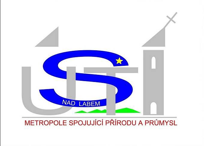 Logo Ústí nad Labem z roku 2015 od Radka Fettera je nejtypičtější ukázkou toho, jak městská identita vypadat nemá