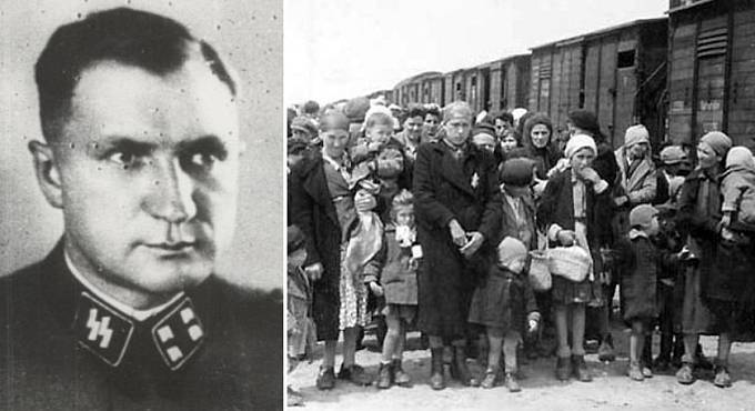 Richard Baer, velitel tábora Březinka v Osvětimi