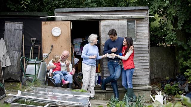 Sendvičová generace, ilustrační foto