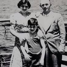 Židovští uprchlíci na palubě parníku St. Louis