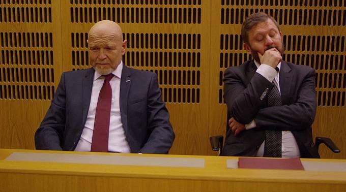 Marek Vašut a Karel Zima ve filmu Román pro pokročilé