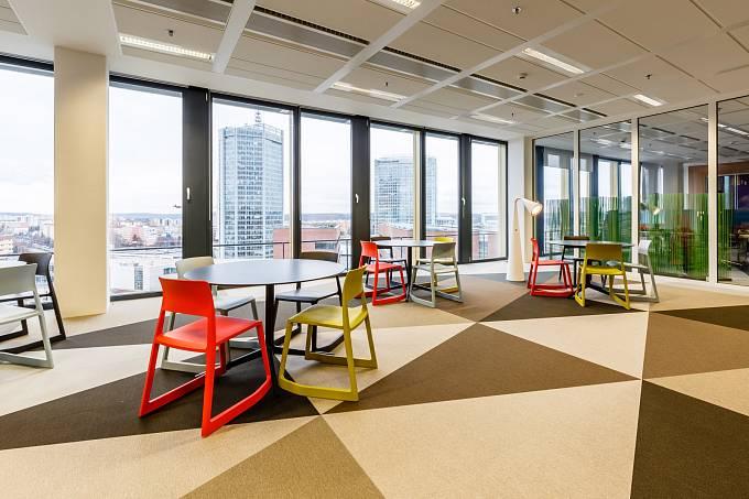 Nové kanceláře firmy Avast / relaxační zóna
