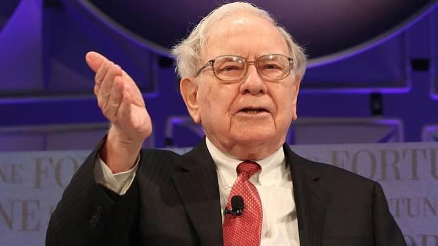Warren Buffett v roce 2014.