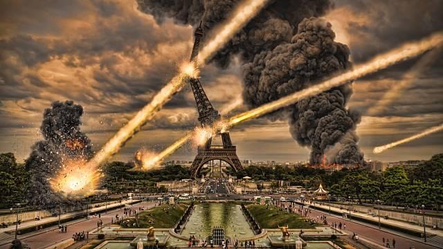 Náš svět by také mohl skončit pádem meteoritu na zem
