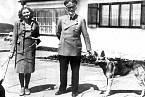 Hitler byl známý milovník zvířat.