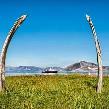 Velrybí alej na ostrově Yttygran