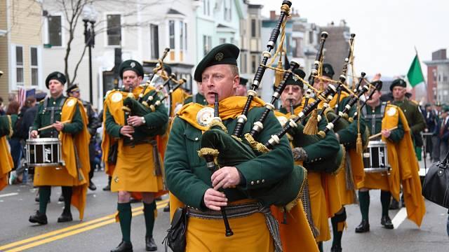 Průvod Irů v Bostonu