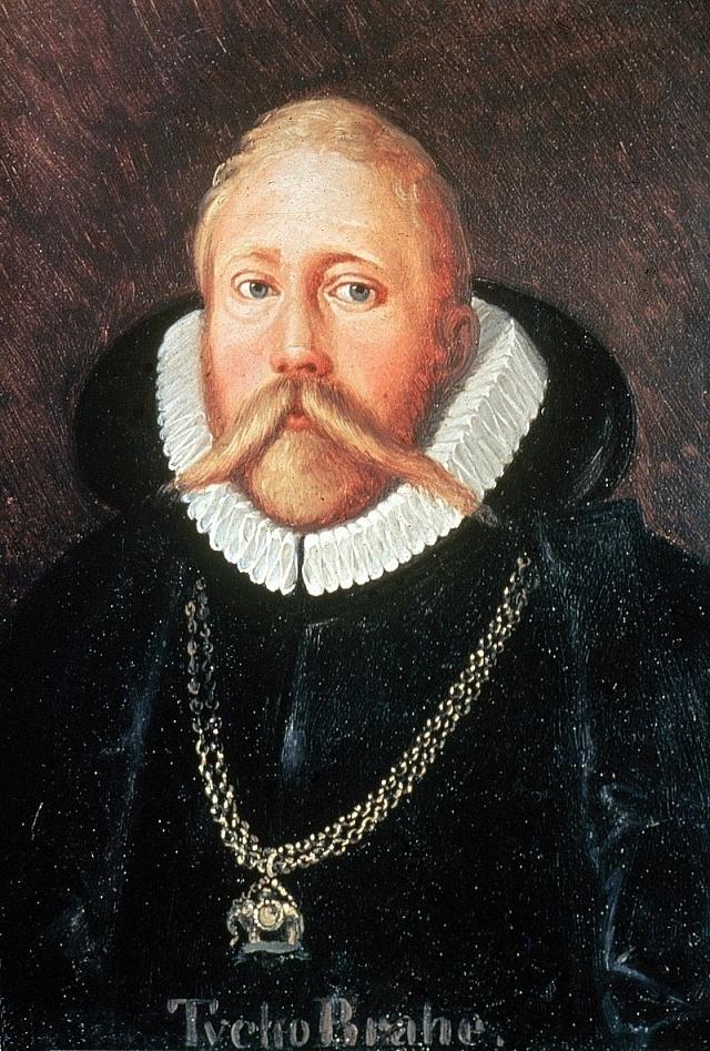 Tycho Brahe, autor: Eduard Ender