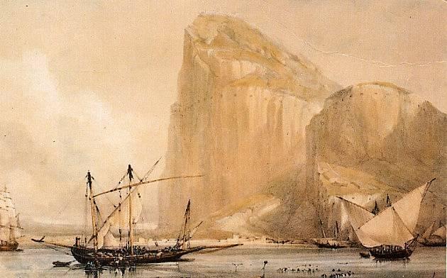 Gibraltar v 19. století