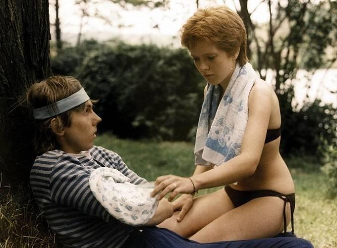 Bohumír Star a Stanislava Coufalová ve snímku Fandy, ó, Fandy