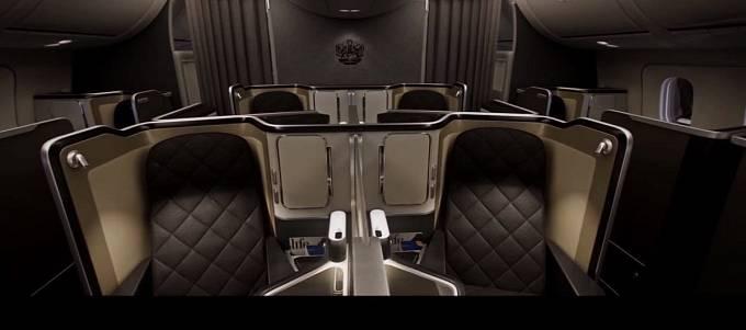 Součástí luxusního sedadla British Airways v letadle 787-9 Dreamliner je 23palcová obrazovka.