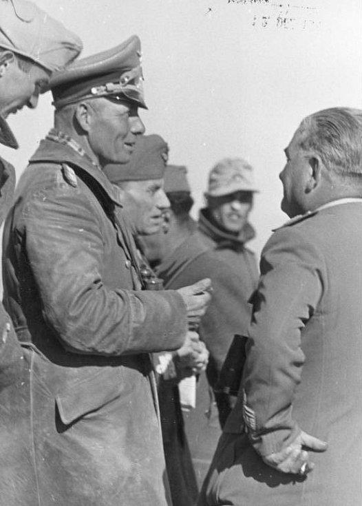 Erwin Rommel při obléhání Tobruku