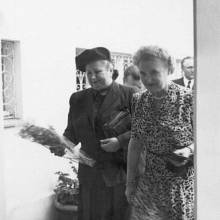 Hana Benešová (vpravo) s Martou Gottwaldovou