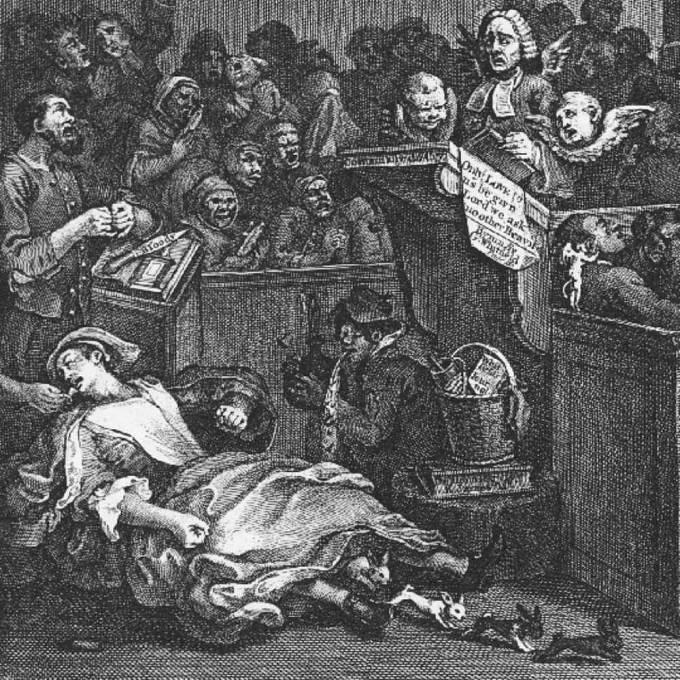 Mary Toftová svým neuvěřitelným porodem králíka obalamutila i krále Jiřího I.
