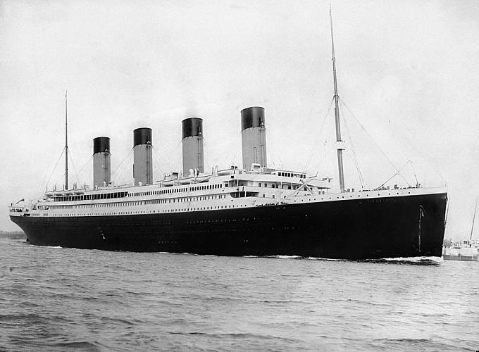 Titanik byl ve své době největším parníkem na světě.